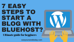 How to start a blog with Bluehost in 2019 (Ultimate guide for beginners)