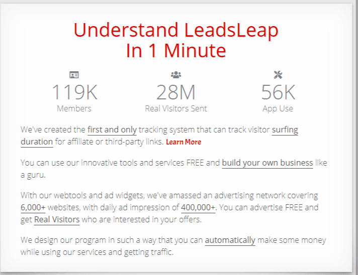 leadsleap definition