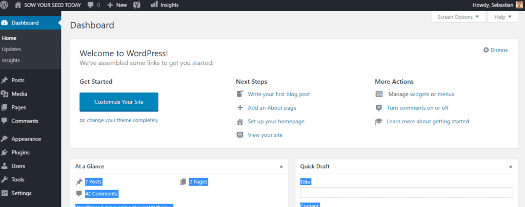 guide to how to start a blog with Bluehost
