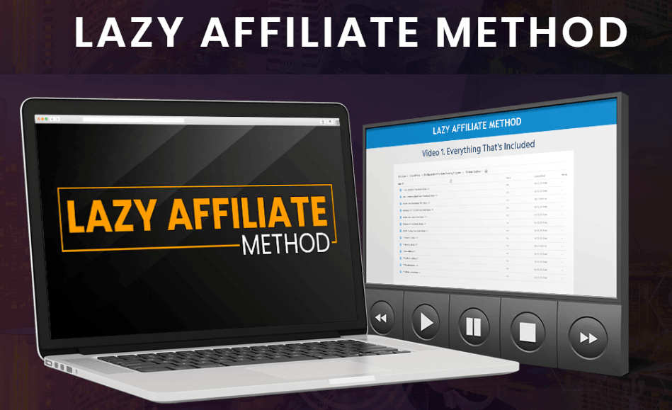 Lazy affiliate method image