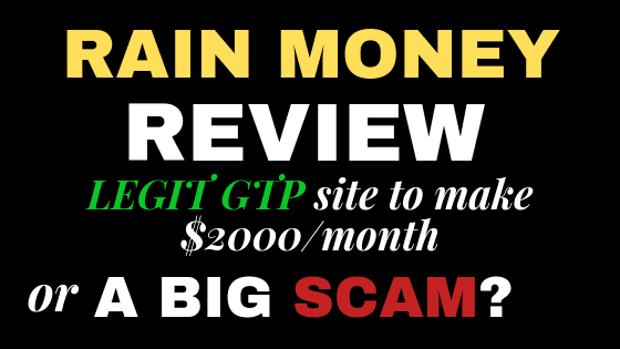 Rain Money review: Is it a scam or a legit way to make $2000/month?
