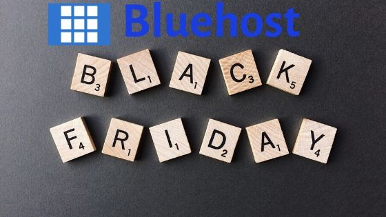 Bluehost Black Friday 2019 deal - 75% off
