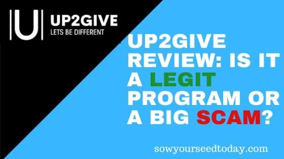 Up2Give review: is ist a scam or legit