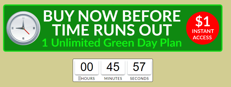 MoolaVine is not free: Unlimited green days plan cost $1 for 5 days then $30 per month