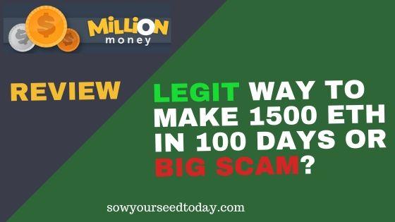 Million Money review: scam or legit