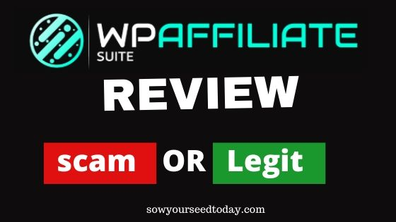 WP Affiliate Suite review
