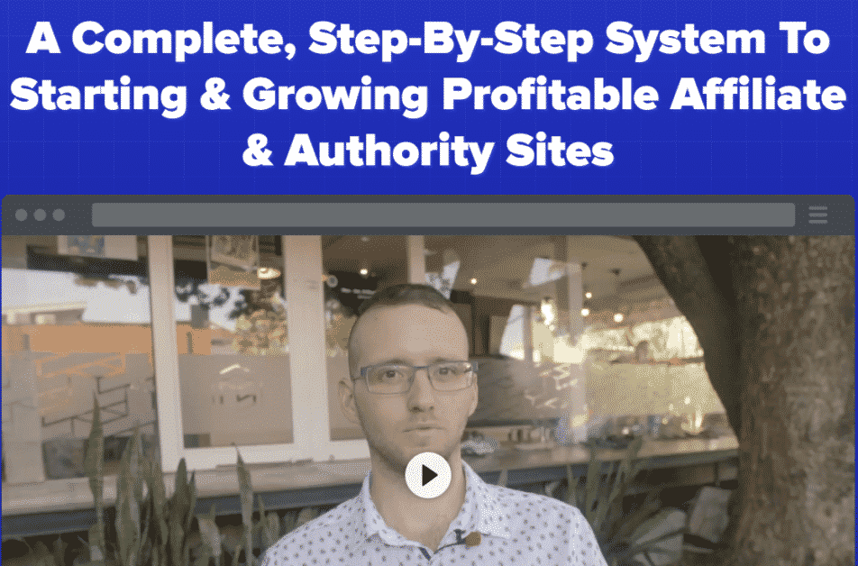 The Authority Site System course - home page