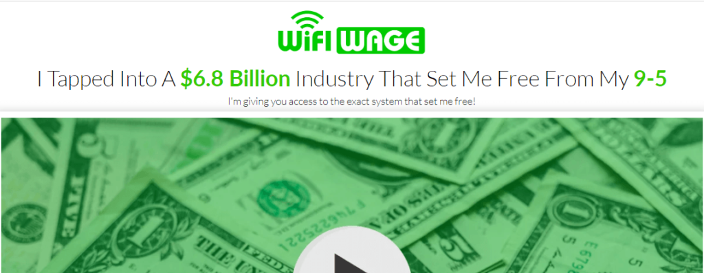 The Wifiwage course review: Tom claim in the sale page