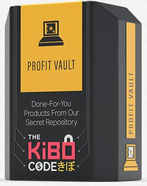 Kibo code profit vault product