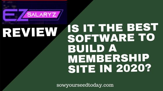 Ez SalaryZ review: Is this membership site software worth your money?