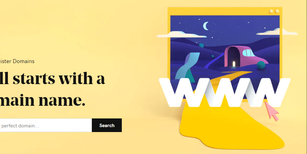 GoDaddy domain name registrar company website home page