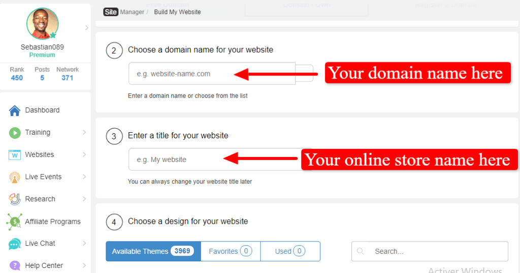 Ecommerce website setting up process: choose a wordpress theme