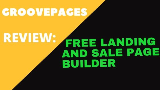 GroovePages review: A free landing and sale pages builder for marketers