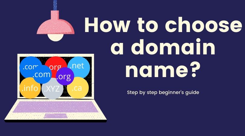 How to choose a domain name for your business [step-by-step beginner's guide]