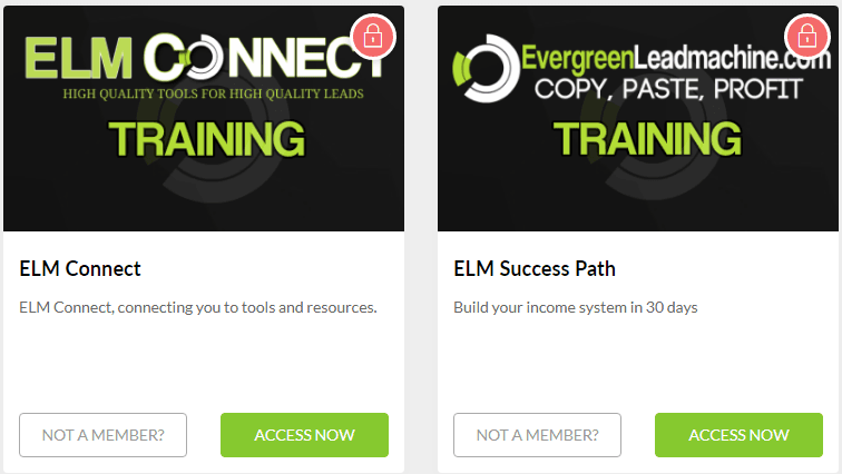ELM Connect training: fee required