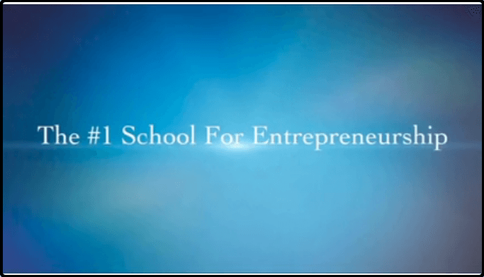 """The freedom In 365 claims itself as the """"1 school for entrepreneurship"""