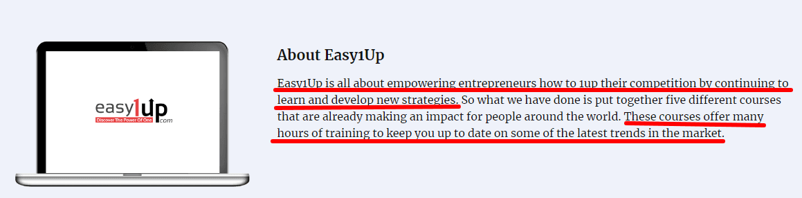 About Easy1Up