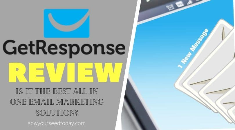 Getresponse Review: pros & cons, and pricing [2020] - best email marketing software?