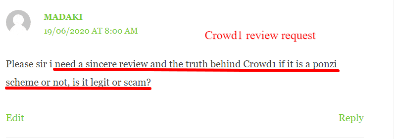 Crowd1 review 2020 requested by readers