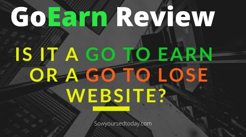 GoEarn review: Is GoEearn.co a scam or legit way to make $500 a day?