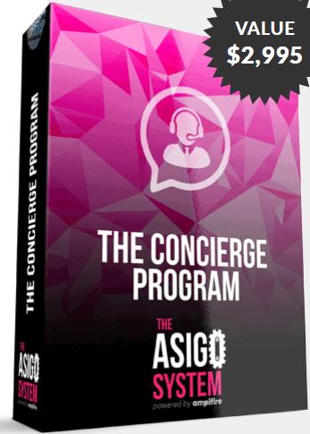 Asigo Partner's Concierge