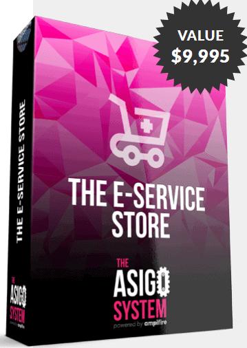 The Asigo eService Dropshipping eStore