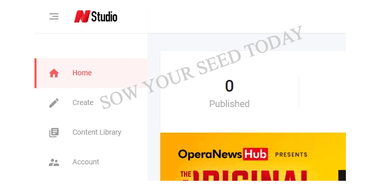 How to make money on Opera News hub: dashboard