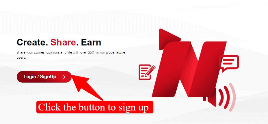 How to make money on Opera News hub: create your account