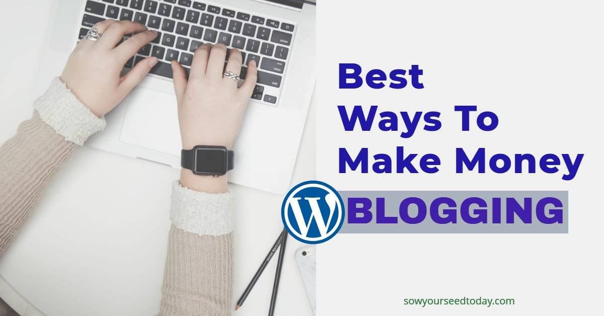 8 Best Ways To Make Money With Your Blog In 2020 (a practical guide)