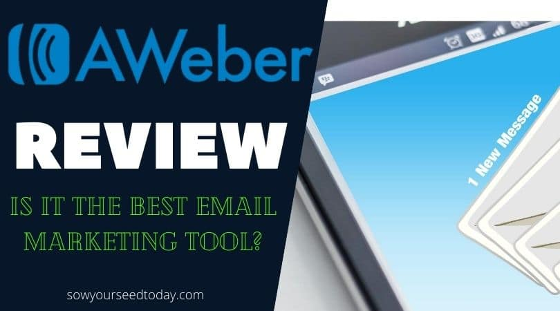 Aweber review: best email marketing tool