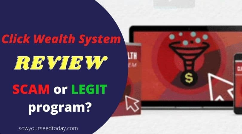 Click Wealth System review: Scam or legit money-making software?