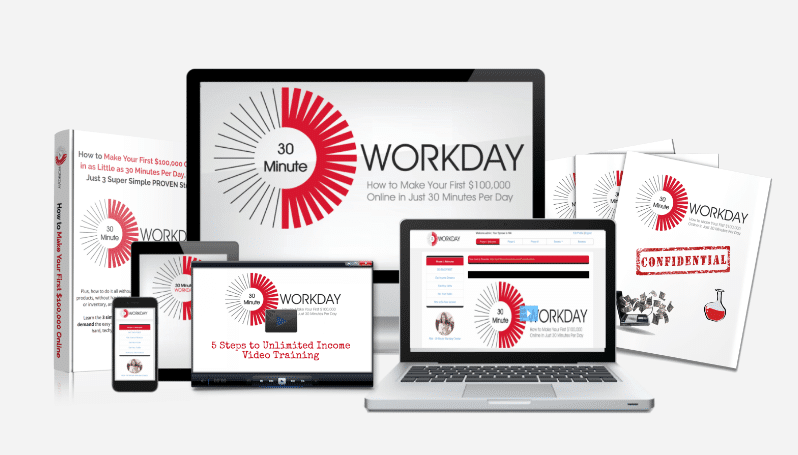 The 30 Minute Workday Review: Scam or Legit Program To Make $10 000 Per Month?
