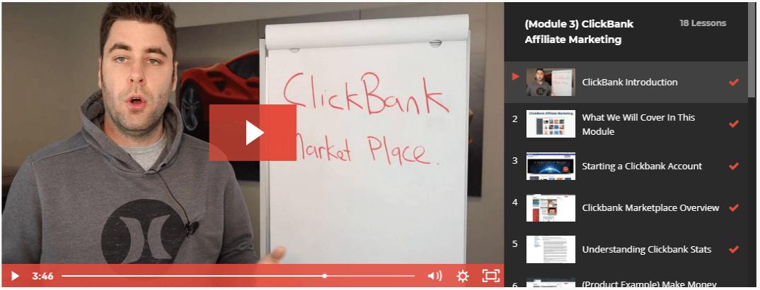 Savage Affiliates review - ClickBank walktrough