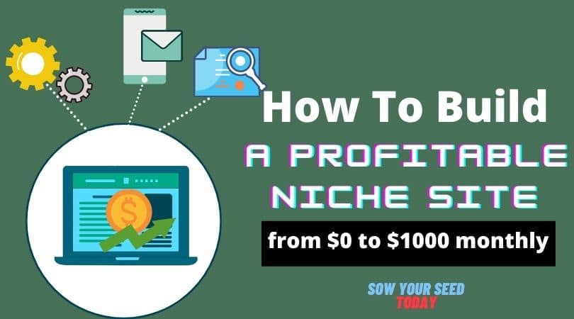 How to build a niche site - free guide for beginners