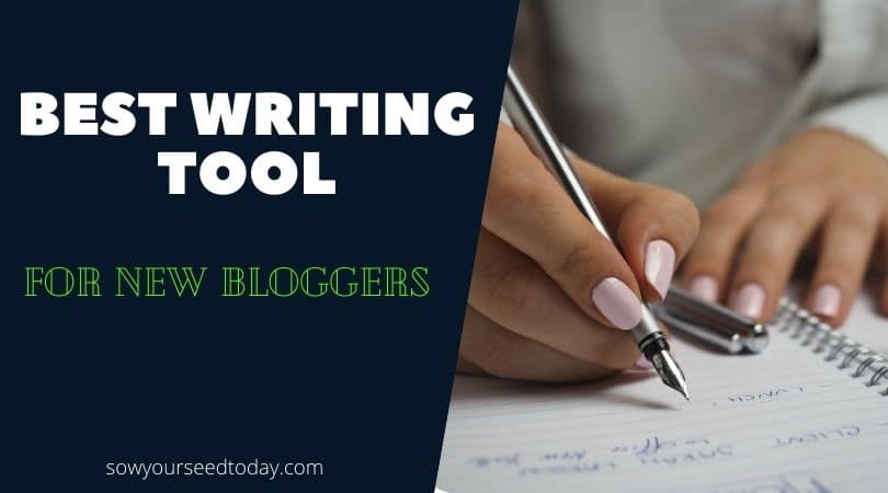 best writing tools for new bloggers