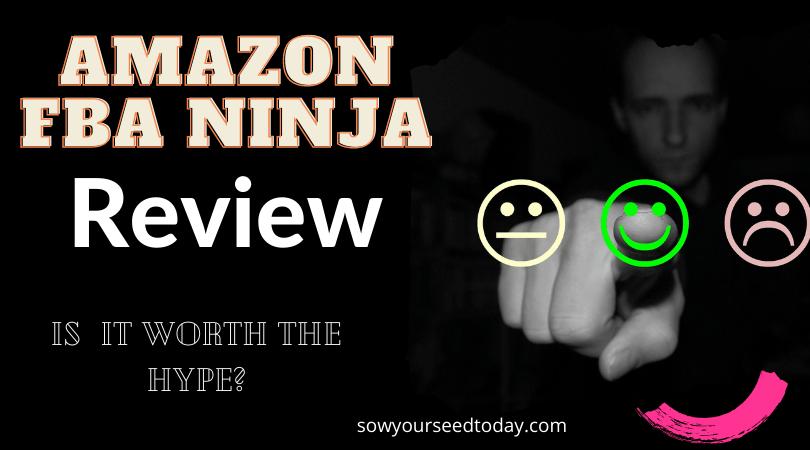 Amazon FBA Ninja review - honest review