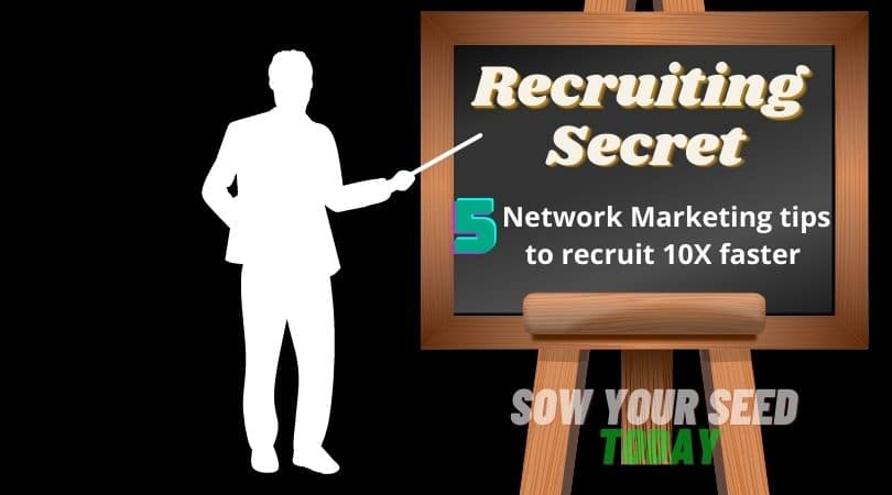 How to recruit in MLM like a Pro