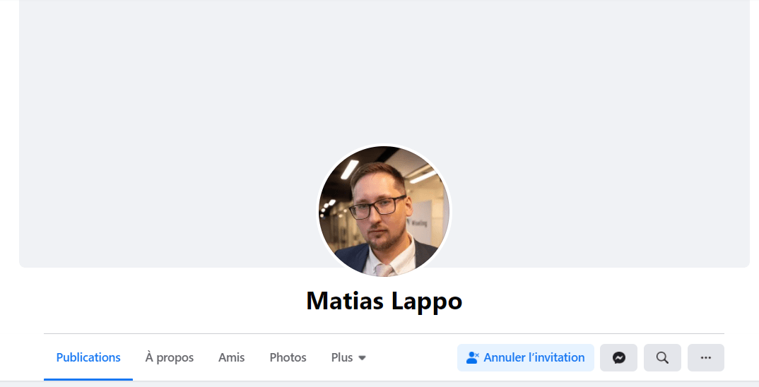 Matias Lappo Facebook profile - WiseLing CEO and owner