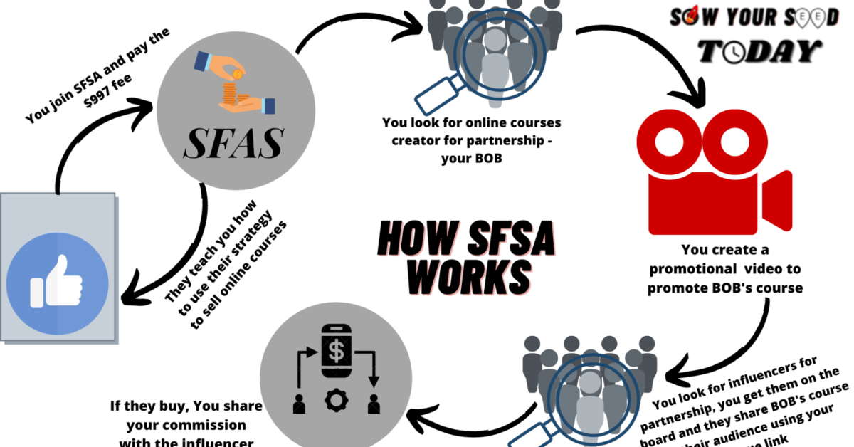 How does the Six Figure Academy work