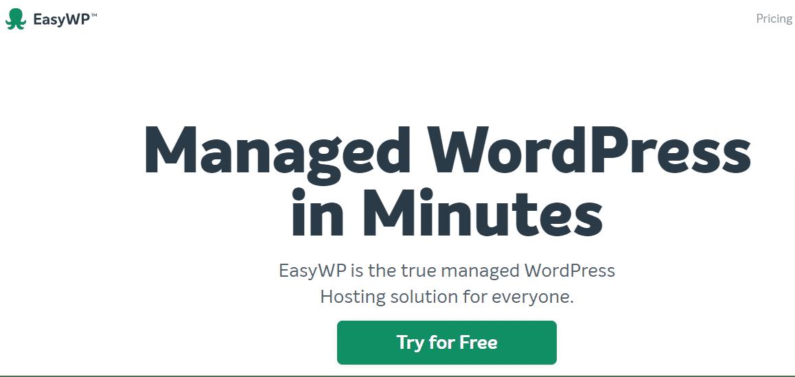 Best Managed Web Hosting provider - EasyWP