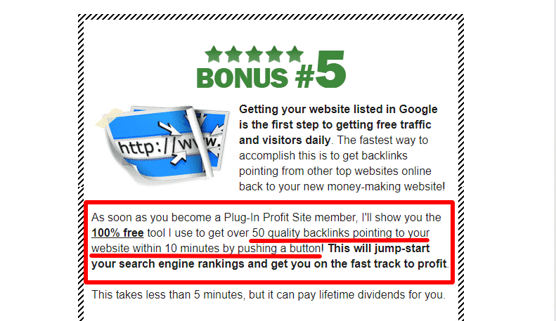Plug-In Profit Site review - misleading claims